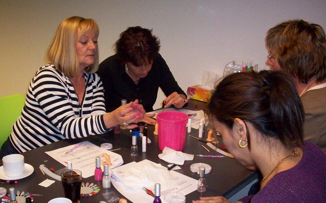 Exclusieve nail art workshop.
